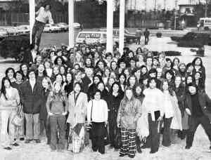 Class photo, 1974.